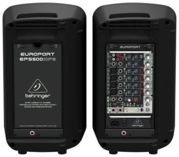 Behringer EUROPORT EPS500MP3 Portable PA-Anlage -